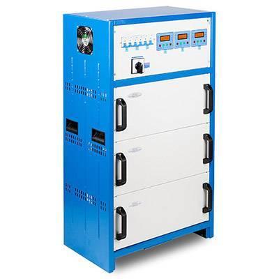 Трёхфазный (380 вольт) стабилизатор напряжения Рэта ННСТ-3x11 кВт Shteel (Semikron)